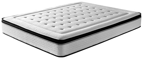 RestBed Bio Memory, Colchón Viscoelástico INNOGEL, Blanco, 90x190 cm [Exclusiva Amazon]