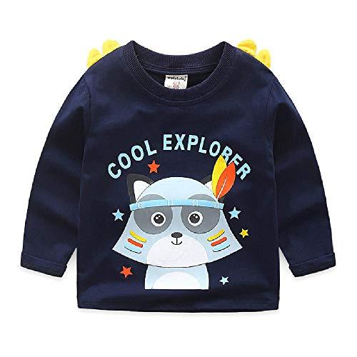 Kinder T-shirt met lange mouwen Baby Cartoon Jongens T-Shirt Meisjes Bottoming Shirt Herfst Katoen top