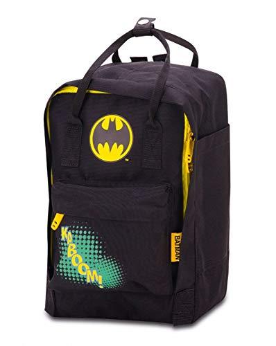 Baagl Kindergartenrucksack für Jungs und Mädchen – Kleiner Rucksack für Kinder - Mini Kinderrucksack – Babyrucksack (Batman)