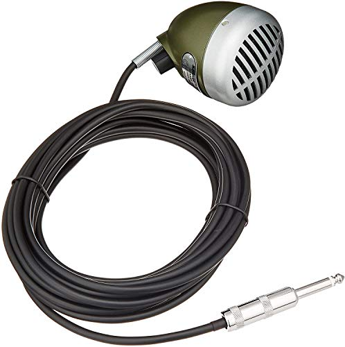 Shure Green Bullet 520DX Dynamic Harmonica Microphone