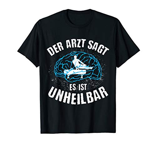 GERÄTETURNEN | Arzt sagt Unheilbar lustiges Sprungbock Sport T-Shirt