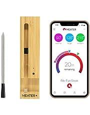 MEATER Plus | De Slimme Draadloze Vleesthermometer Met 50m Lang Bereik Voor De Oven, Gril, Keuken, Barbecue, Rookoven en/of Rotisserie, Met Digitale Connectiviteit Via Bluetooth en WiFi