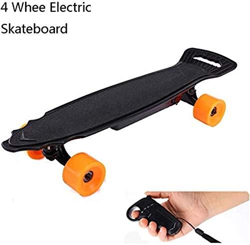 No logo LMCLJJ Elektro-Antrieb Bord Elektronische Skateboard mit Hand Geschwindigkeit Controls & Drift Plattentechnologie mit Fernbedienung und Bremse for Studenten Erwachsene und Stadt Commuters