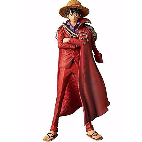 One Piece Capa Luffy 20 Aniversario 25cm Figura De Acción Figurita PVC Modelo Colección Estatua Animación De Personajes Niños Y Regalo Luffy