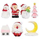 Decoración del hogar / Accesorios de Decoración 7 PCS Navidad Estatuillas en...