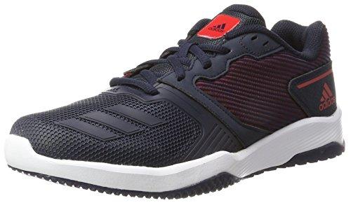 adidas Gym Warrior 2 M, Zapatillas de Running Hombre, Multicolor (Legend Ink/Legend Ink/Scarlet), 41 1/3 EU