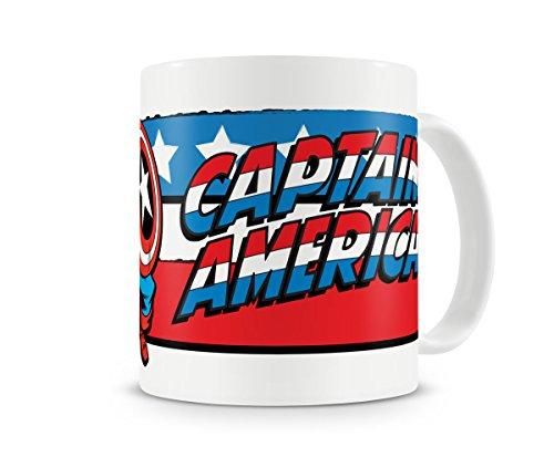 Marvel Officiellement Sous Licence Captain America Flag Tasse à Café, Mug