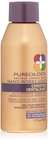 Pureology | Nano Works Gold Conditioner Revitalisant | Youth-Renewing Formula for Color Treated Hair...