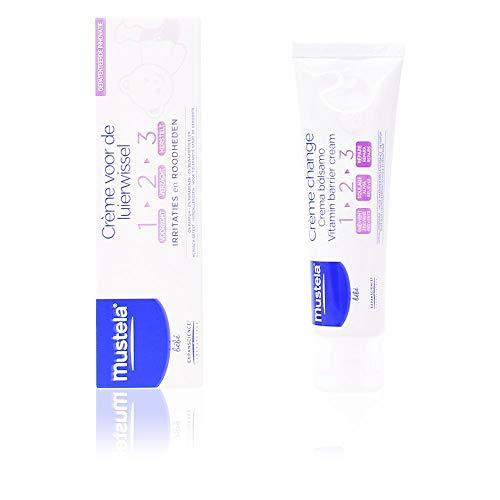 Mustela bébé – Windelcreme für empfindliche Babyhaut – Schutz vor Hautreizungen und Rötungen (1 x 100 ml)