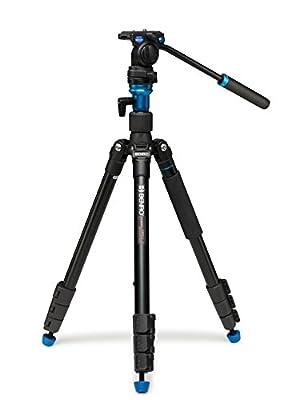 Benro C373FBS8 S8 Video Tripod Kit - Carbon Fiber (Black)