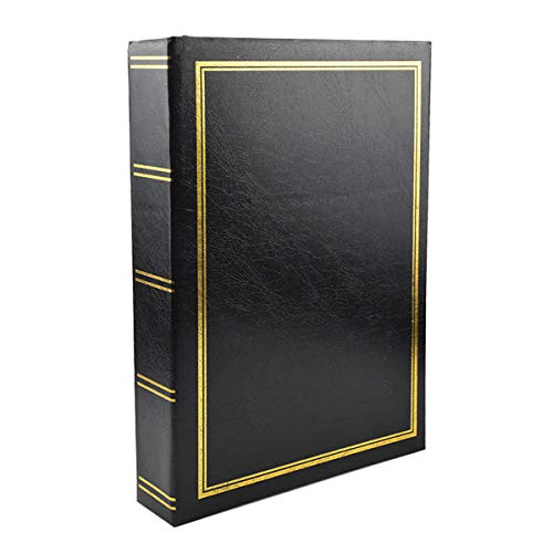 Disino Album Foto 300 Fotos, 6 X 4 Album Fotografico Pagine Bianche Grande con Memo per Bambino, Album Fotografico Vintage 50 Pagine per Il Matrimonio
