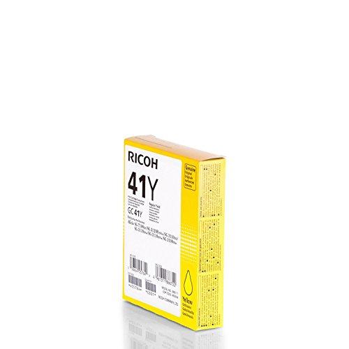 Original Ricoh 405764 / GC-41Y Gelkartusche Yellow für Ricoh Aficio SG 3110 n