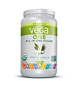 Vega One Organic Meal Replacement Plant Based Protein Powder, N/a French Vanilla 18 Servings 24.3 Ounce from Vega - HPC