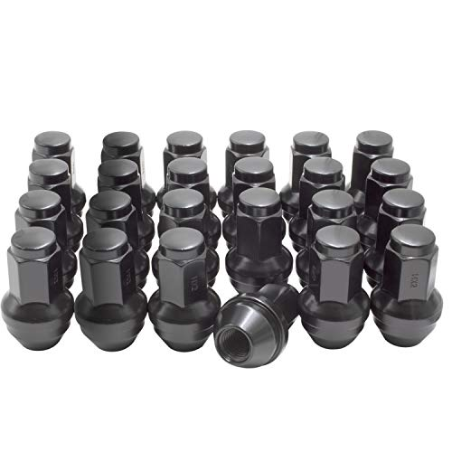 Wheel Accessories Parts Set of 24 14x2.0 Lug Nuts fits Ford, Lincoln 4L3Z-1012-A...