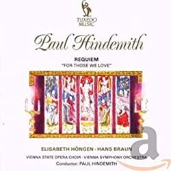 Hindemith:Requiem for Those [Import]