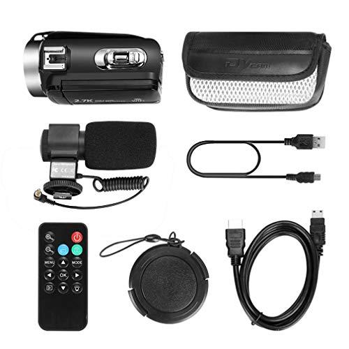 Cámara de Video Digital de Alta definición de 30 Millones de píxeles Cámara WiFi para el hogar DV con Control Remoto y micrófono Negro