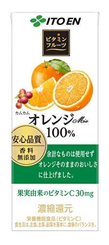 伊藤園 ビタミンフルーツ オレンジミックス 紙 00mL*4本入)