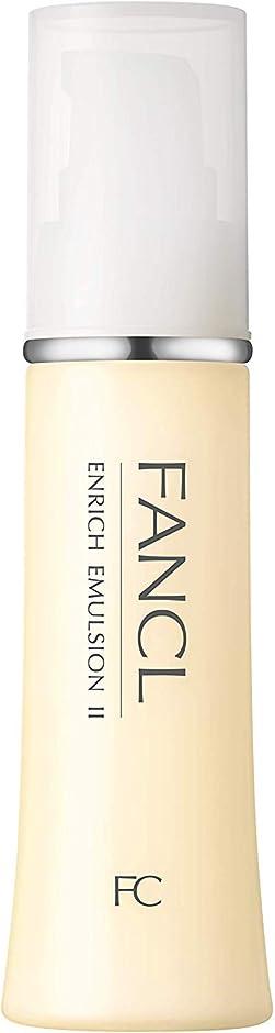 キャプチャー水族館免除ファンケル (FANCL) エンリッチ 乳液II しっとり 1本 30mL (約30日分)