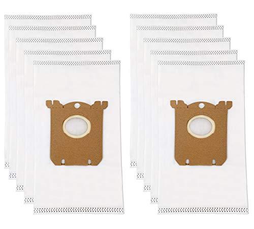 10 Remplacement E201B Sac pour Electrolux Philips Tornato AEG VOLTA Accessoires pour Aspirateur