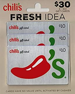 Chili's Gift Cards, Multipack of 3