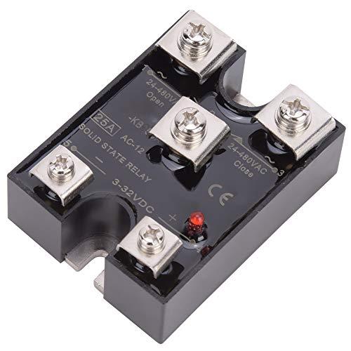 Relé de estado sólido de alta resistencia, ≤20mA con plástico 24-480AC 3-32VDC