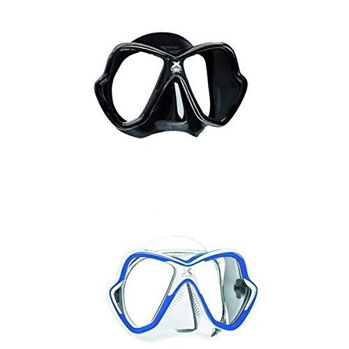 Maske Mares X Vision, Schwarz/Gelb