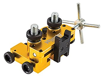 Wheeler Engineering Armorer s Handgun Sight Tool with Heavy-Duty Construction and Reversible Assembly for Handguns Gunsmithing and Maintenance