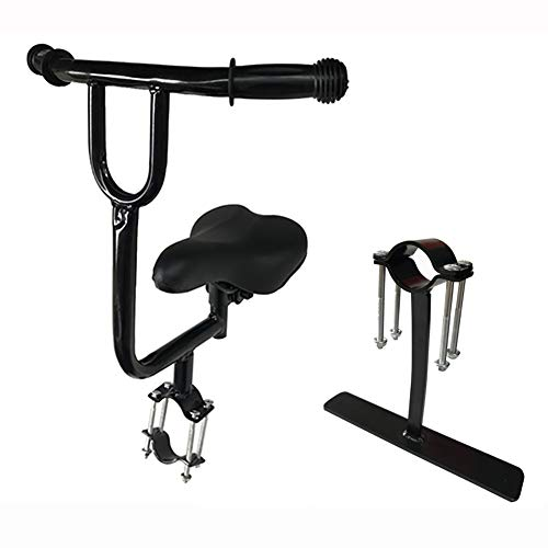 RRH Child Bike Seat Thickened Iron Pipe, Full Fence, Footrest with Armrests, Bearing 60kg, Suitable for Bicycles and Electric Vehicles (Size : B)