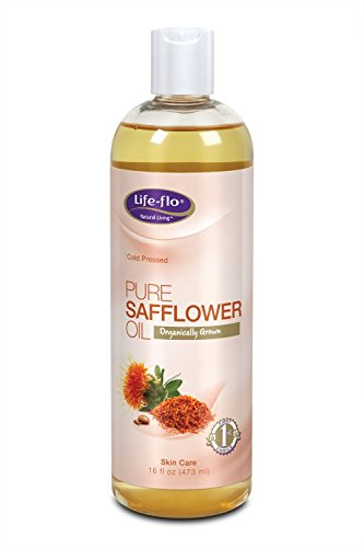 Pure Safflower Oil Organic Natural Life Flo Health Products 16 oz Liquid