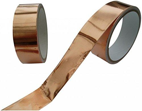 Schnecken-Klebeband, Kupfer, 30 mm x 4 m lang, 1 Rolle
