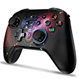 Wireless Controller for Switch Pro, Remote Gamepad Joystick for Nintendo Switch Console with Gyro Sensor, Dual Vibration, Turbo Function and Capture Function [2020 Upgraded Version]