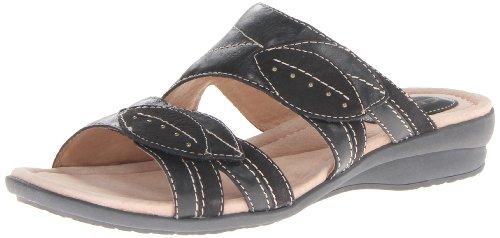 Clarks Reid de Las Mujeres Zapatillas Sandalias de cuña