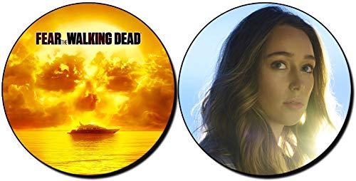 MasTazas Fear The Walking Dead Alycia Debnam-Carey Posavasos x4 Coasters