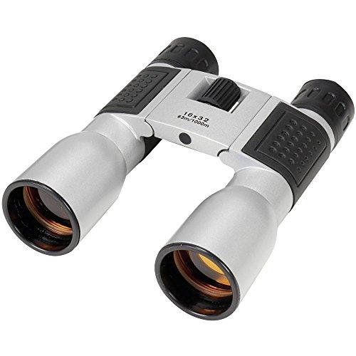 Basetech verrekijker Compact 16x32 16 x 32 mm dakrand zilver-zwart 558099
