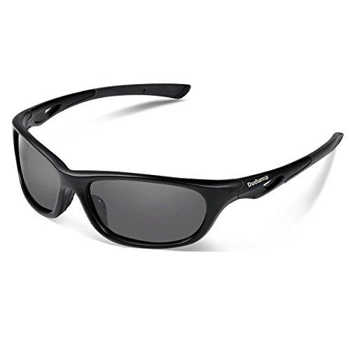 Duduma Sport Occhiali da Sole Polarizzati Ideale per lo Sci Baseball Guida Pesca Equitazione Golf Corsa Ciclismo con Du646 Telaio Unbreakable per Gli Uomini e le Donne