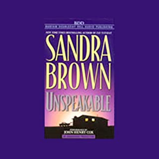 Unspeakable audiobook cover art