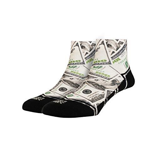 LUF SOX Quarter Bucks - Socken für Damen & Herren, Unisex-Größe 35-39, 40-43 & 44-48, mehrfarbig, Ferse & Fußspitze leicht gepolstert
