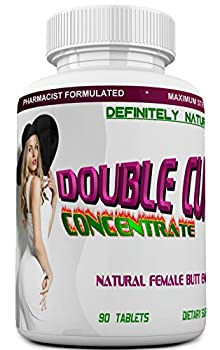 Double Curves Concentrate Female Butt Enlargement Pills Booty Enhancement Naturally Increase Your Buttocks Size Glutes Enlarger Booty Enhancer 90 Tablets