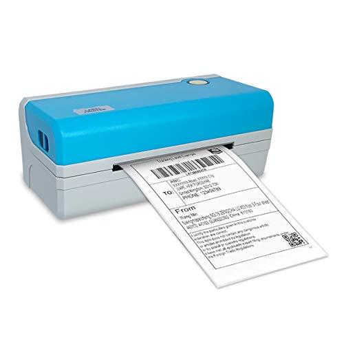 Meihengtong Etikettendrucker, 4 x 6, Thermo-Barcode-Drucker, High-Speed-Etikettendrucker, Schreibmaschine, kompatibel mit UPS, FedEx, Amazon, Ebay, Etsy, Shopify