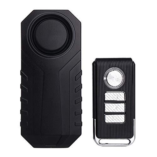 Alarma de coche Alarma CCI KS-SF22R IP55 a prueba de agua 113dB Wireless Sensor de vibración antirrobo con control remoto for el vehículo/Bicicleta/bicicleta eléctrica sistema de alerta de segurid
