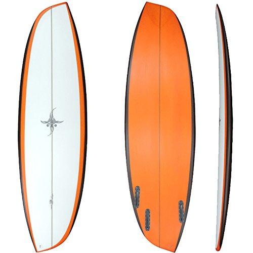 【RYAN BURCH SURFBOARDS】ライアンバーチ サーフボード ASYMMETRICALS MODEL 5'8(Goofy stance)専用FIN付き 送料無料!(北海道・沖縄・離島は送料15000円)