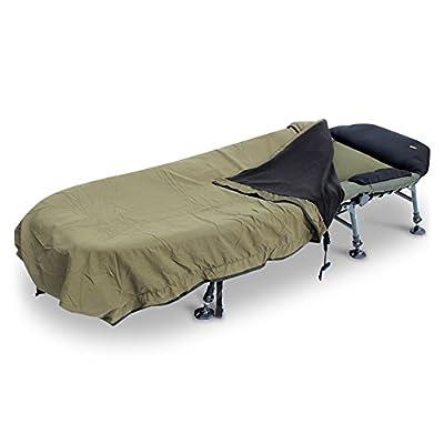 KOALA PRODUCTS Abode Peach Skin Windout Fleece Bedchair Blanket Carp Fishing Bed Cover by Koala Products
