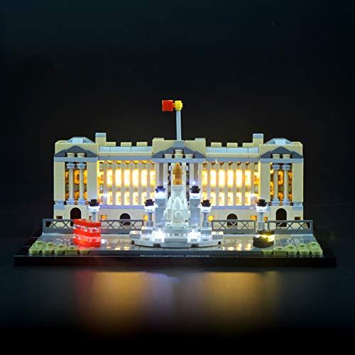 Kit De Iluminación Led para Lego Palacio De Buckingham, Compatible con Ladrillos De Construcción Lego Modelo 21029, NO Incluido En El Modelo
