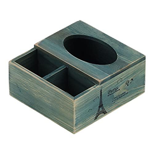 01 Caja De Almacenamiento, Exquisita Caja De Almacenamiento De Escritorio Retro para Sala De Estar para Tocador