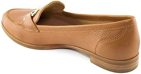 Driver Club USA Women's Leather Made in Brazil Austin Grainy Buckle Loafer Driving Style