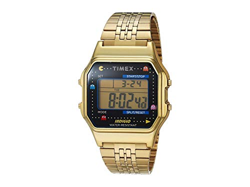 Timex 34 mm T80 Pac Man Gold/Black/Gold One Size