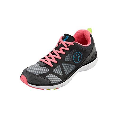 Zumba Women's Fly Fade-w Dance Shoe, Neopulse Pink, 5 M US