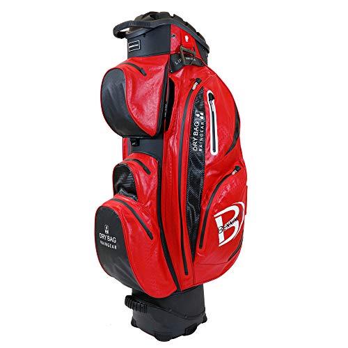 Bennington QO 14 Waterproof Cartbag, Red/Black