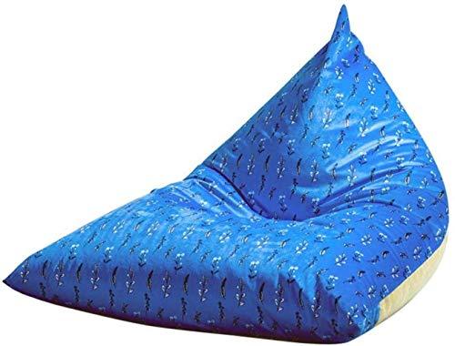 LHY- Cozy Bean Bag Sofa Adulte, Paresseux Canapé Lounger résistant à la Chaleur Anti-encrassement extérieur Convient for Les Jeux 110 × 120 × 90 cm Doux