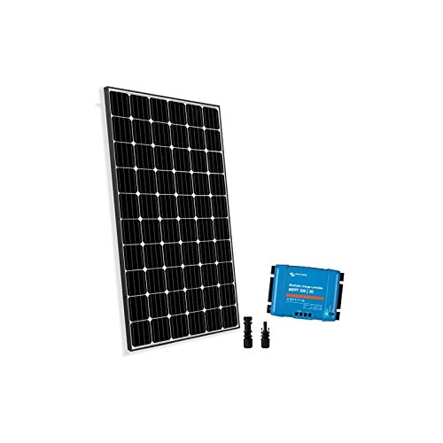 PuntoEnergia Italia - Solar Kit 300W 12/24V Base2 Placa Fotovoltaico Panel Regulador...